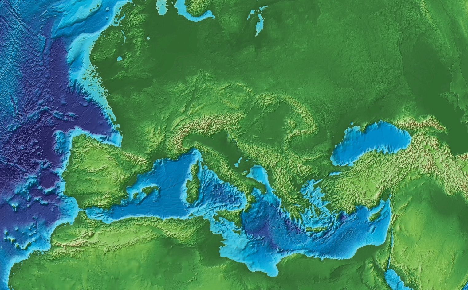 Europe At The End Of The Ice Age