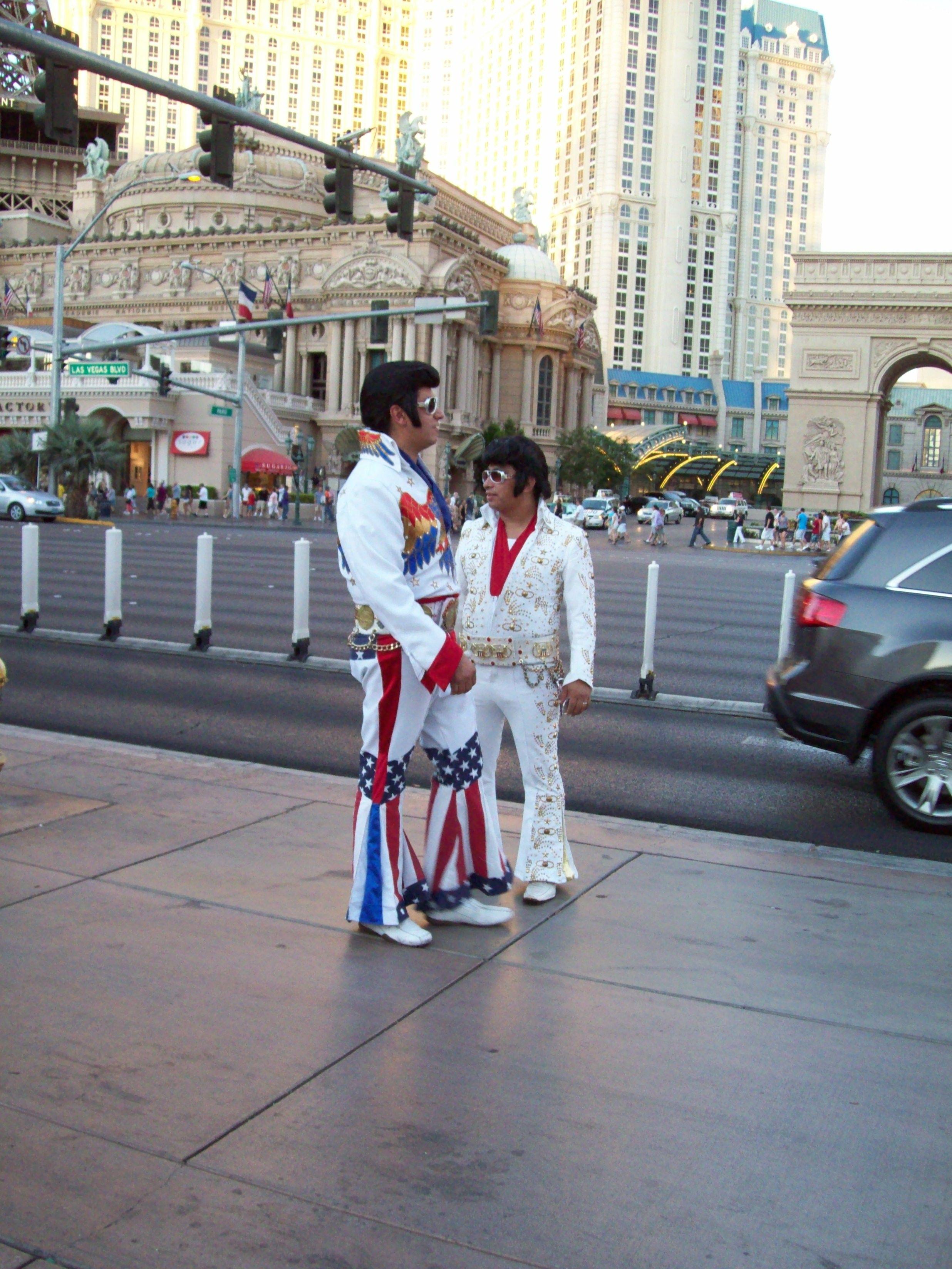 Ahhhh Las Vegas Elvis's  2011