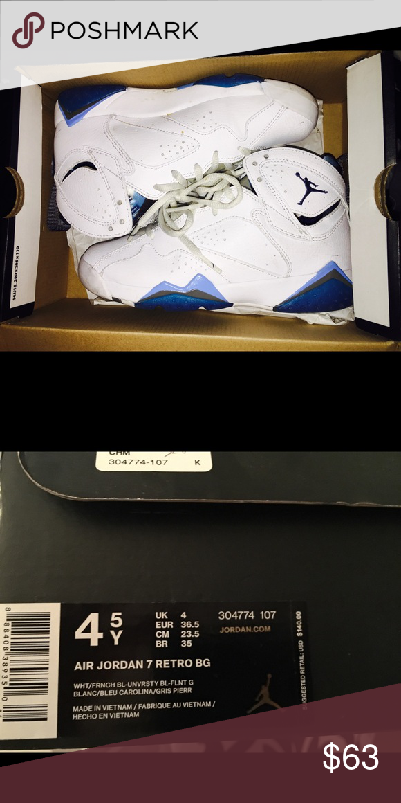 d975e17d622e Air Jordan 7 retro Only worn twice air jordan 7 retro Dead stock Shoes  Sneakers