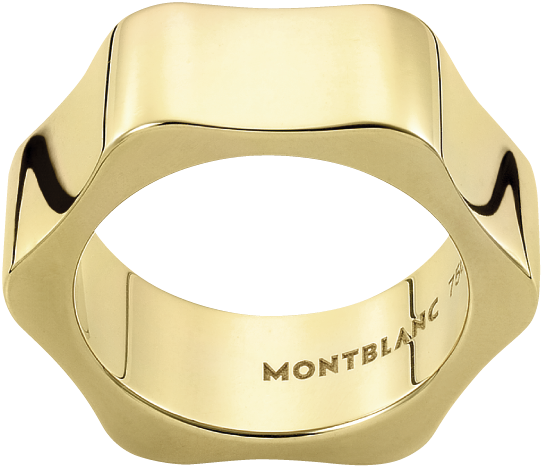 Montblanc 4810 Ring in yellow gold