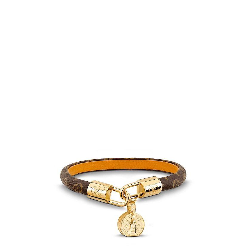 9ecee0eaab4 Women - LV Tribute Bracelet Monogram Canvas Women Accessories Leather  Bracelets | LOUIS VUITTON