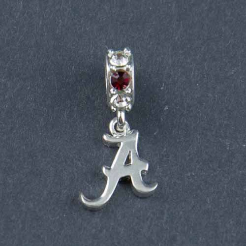 Alabama Charm Bracelet: Alabama Silver Spirit Charm Bead - Pandora Bead