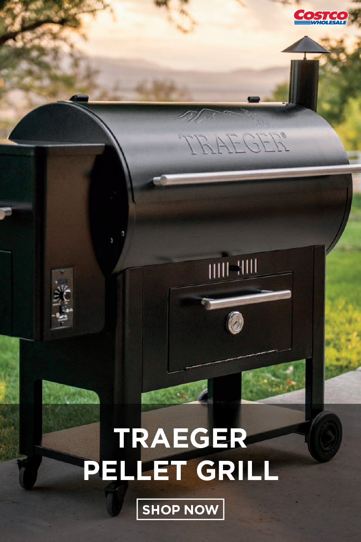 Traeger Century 34 Pellet Grill | What's New on Costco com