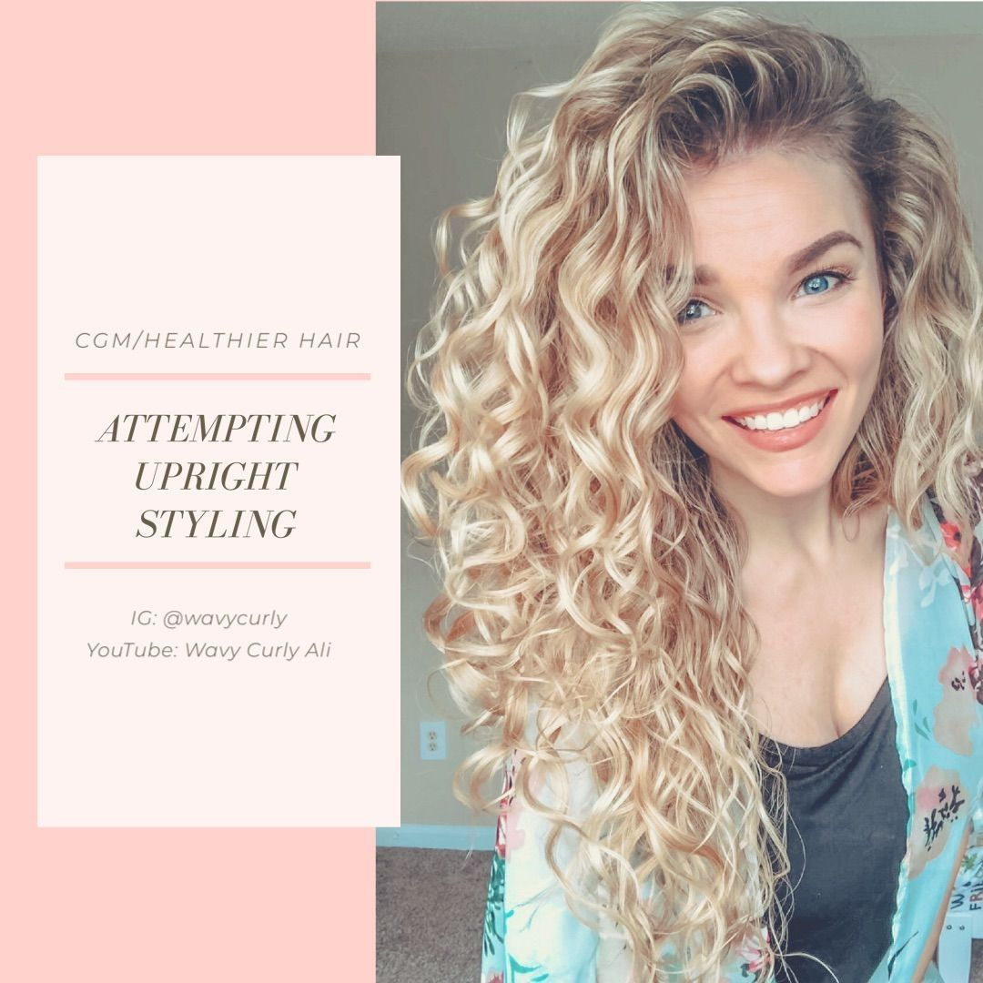 Style Wavy Hair Naturally Curly Style Wavy Hair In 2020 Natural Wavy Hair Wavy Hair Care Curly Hair Dos