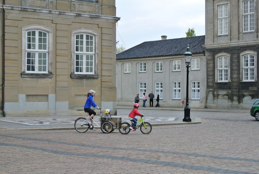 with three of her children out for a bike ride Copenhagen, Denmark May 2013--crown princess mary of denmark 2016 - Google Search