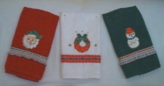 toallas con motivos navideños - Buscar con Google TOALLAS