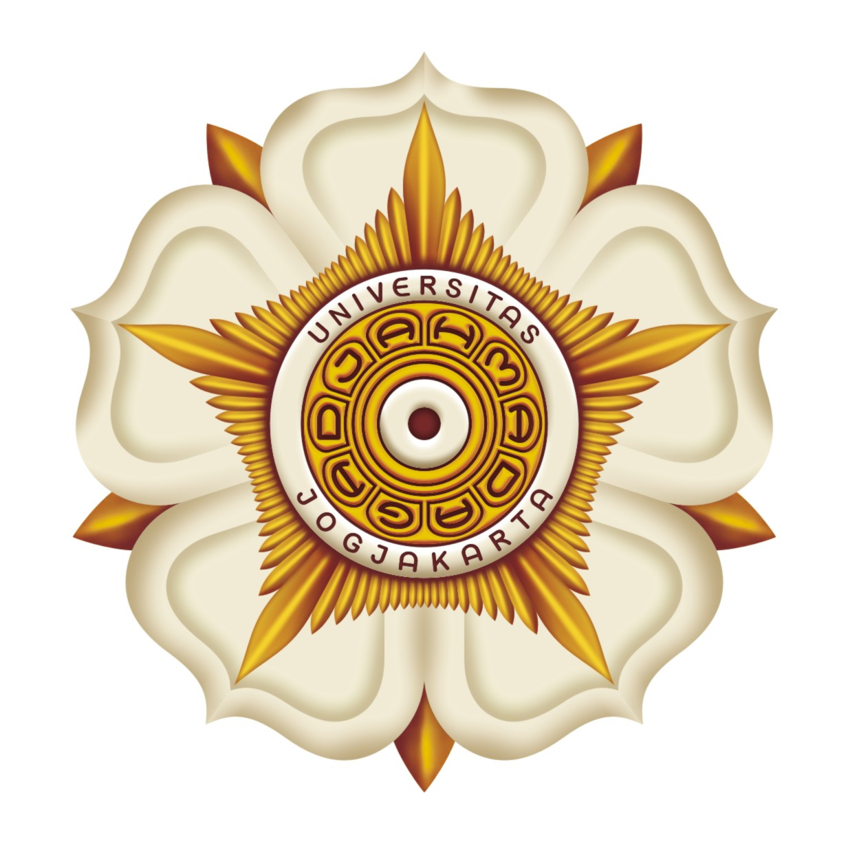 Logo UGM Universitas Gadjah Mada Warna  just share