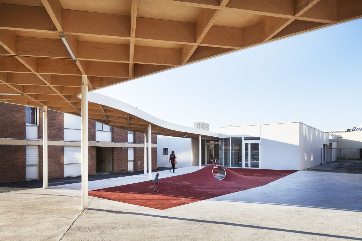 Gallery of Extension of the Charlie Chaplin School Complex / SAM ...