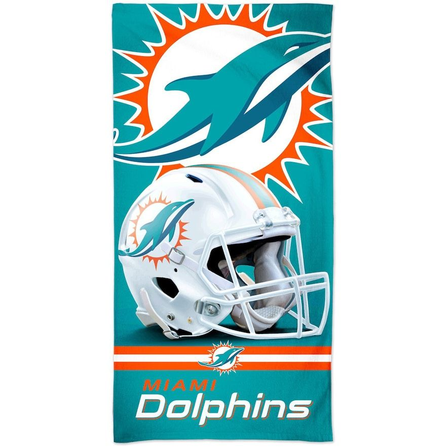 Wincraft Miami Dolphins 30 X 60 Spectra Beach Towel In 2020