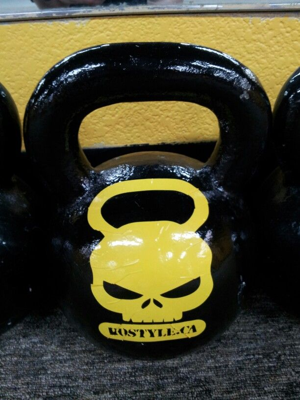 No other Kettlebell like Hostyle conditioning kettlebells
