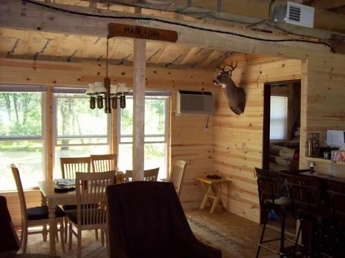 Hunting Cabin Decorating Ideas: Cheap Ceiling Ideas For A Cabin