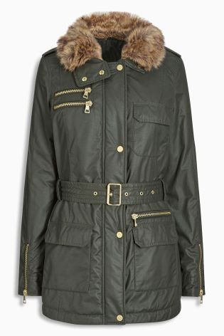 Buy Black Coated Jacket from the Next UK online shop | winter 2016 ...