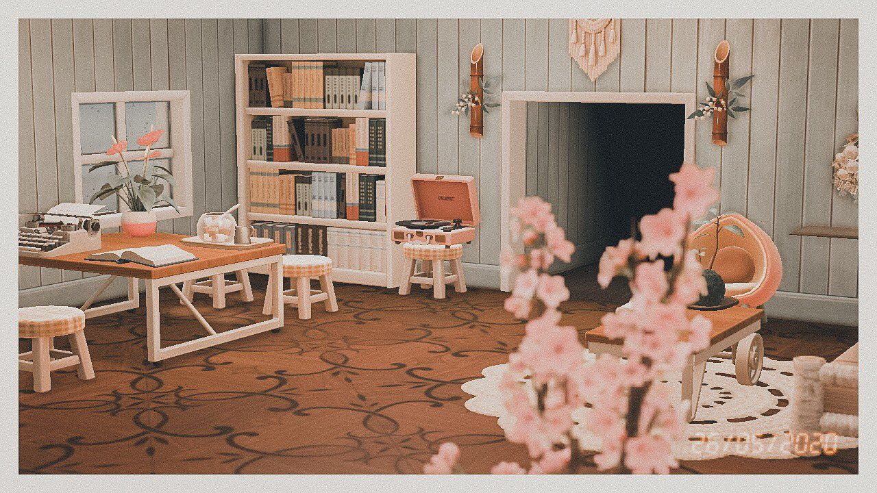 𝓁 𝒶 𝓊 𝓇 𝑒 𝓃 ♡ on Twitter in 2020 | Animal crossing 3ds ... on Animal Crossing New Horizon Living Room Ideas  id=41801