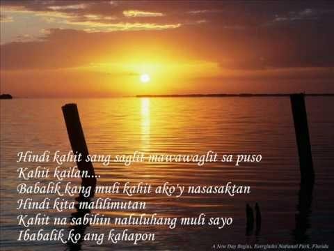 Pagdating ng panahon lyrics a-z songs