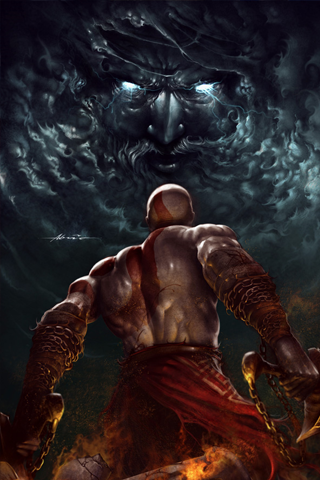 God Of War 2 Android Wallpaper Hd Video Games God Of War Kratos