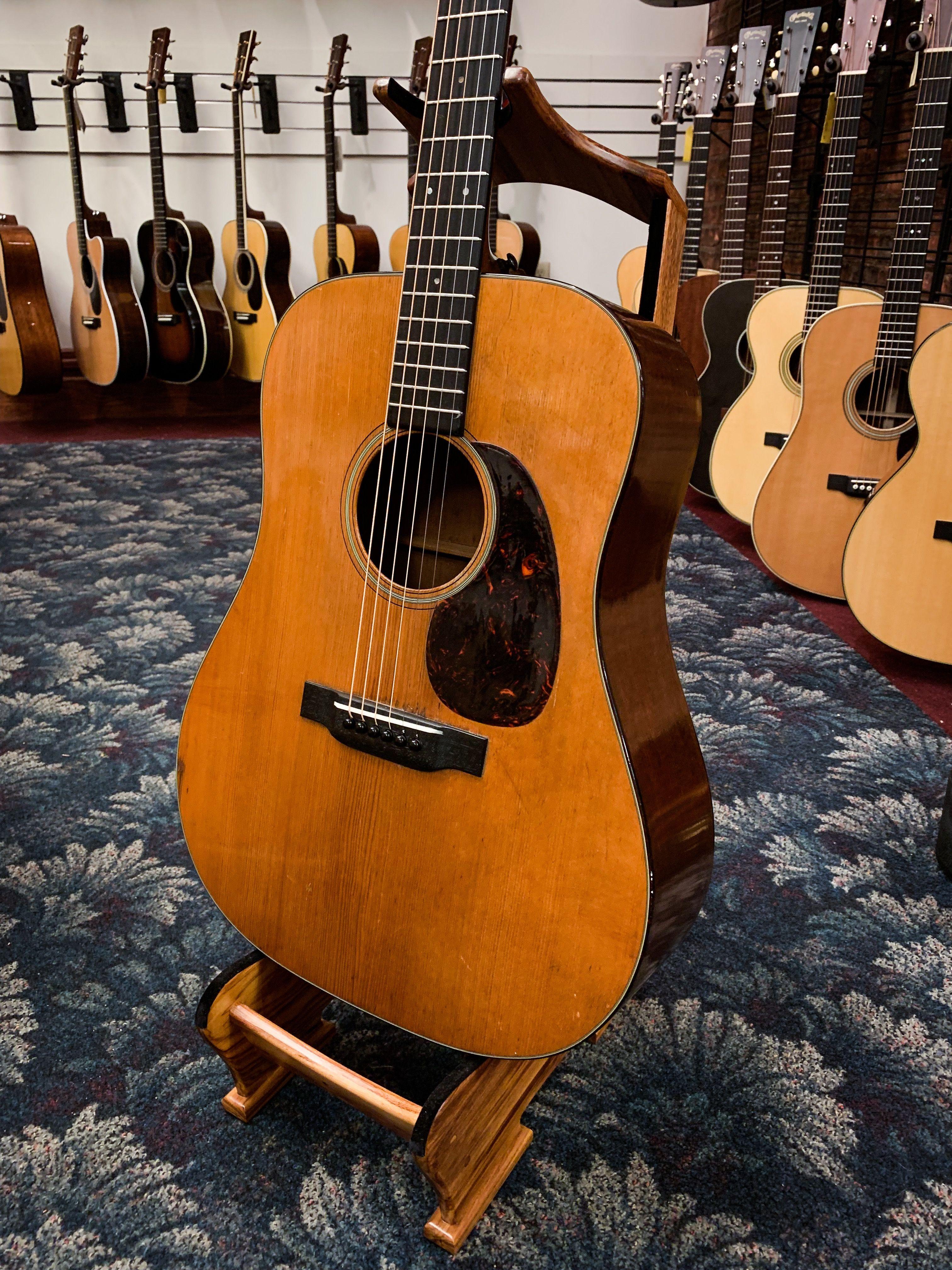 Martin D 18 1941 Guitar Martin Guitar Acoustic Guitar