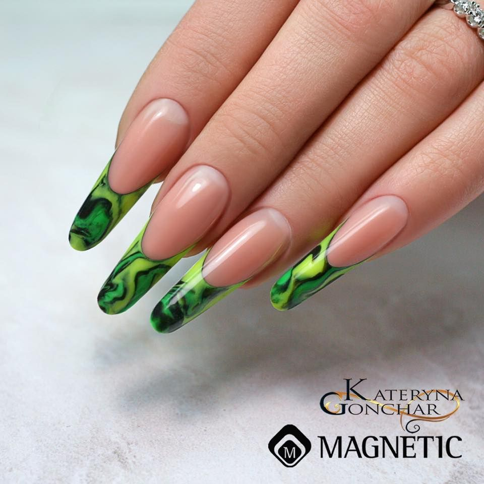 A beautiful design with Power Gel by Nails by