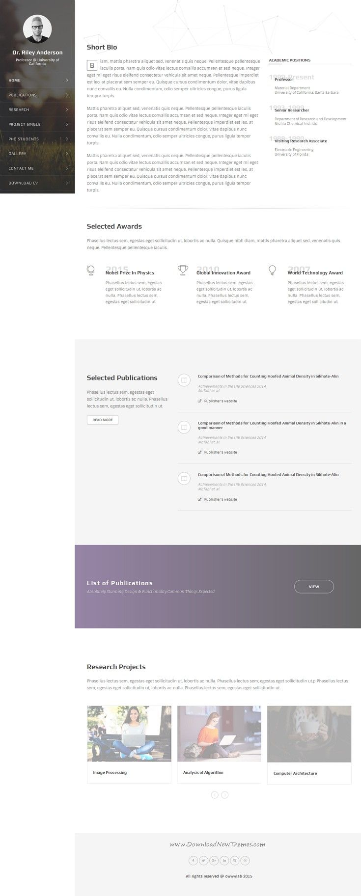 Chaos  Academic Driven Multipurpose Template  Staff Directory