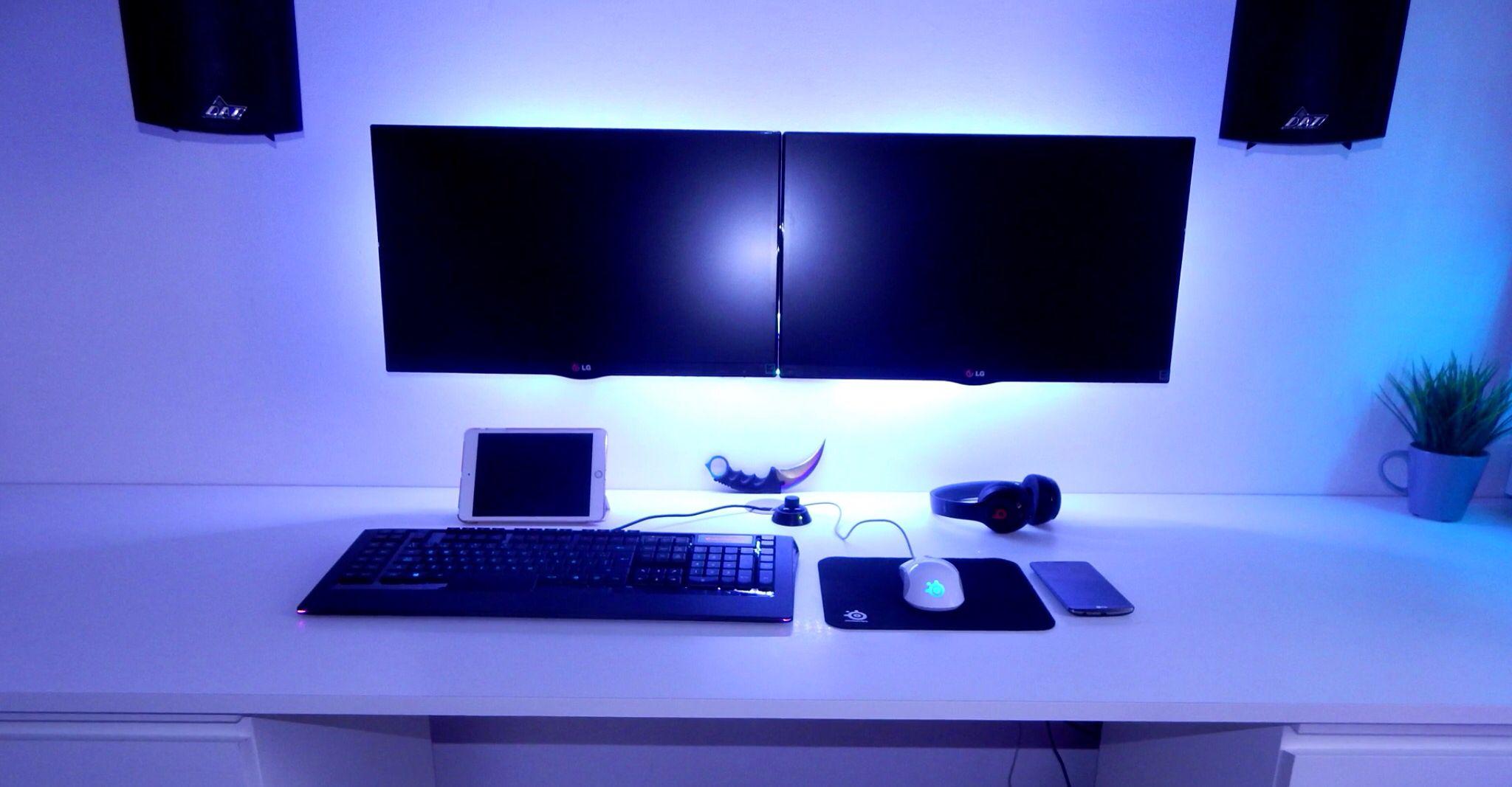 how to use a double monitor setup