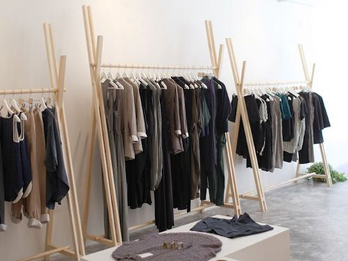 Diy Your Own Super Sleek Clothing Rack With Szeki Chan