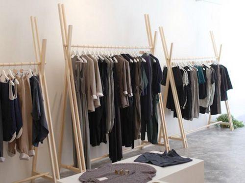 Fantastische DIY Kleiderständer Ideen | Mariemobel.com #clothingracks