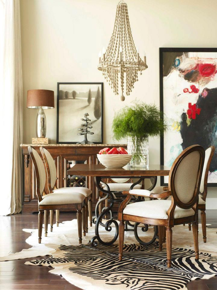 Eclectic Dining Room Interior Design