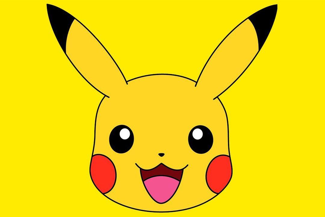 Pikachu Face 12x18 Poster Pikachu Pikachu Tattoo Pokemon Faces