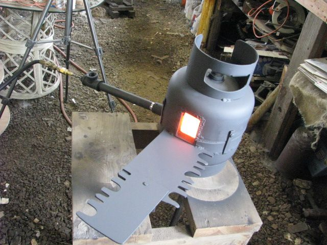 blacksmith projects plans. diy propane forge | plans blacksmith projects p