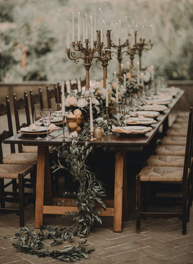 Countryside Wedding in an Italian Castle - Inspired By This #italianwedding