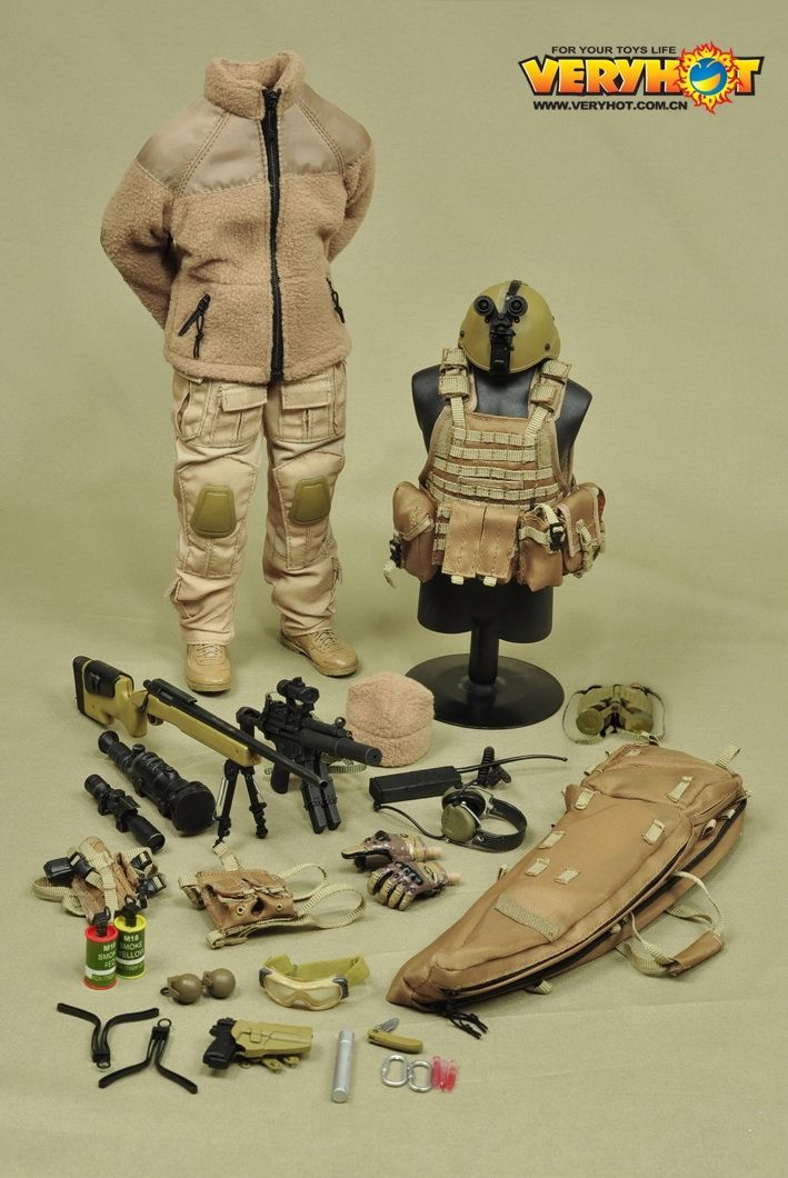 onesixthscalepictures Very Hot Mercenary SAND version