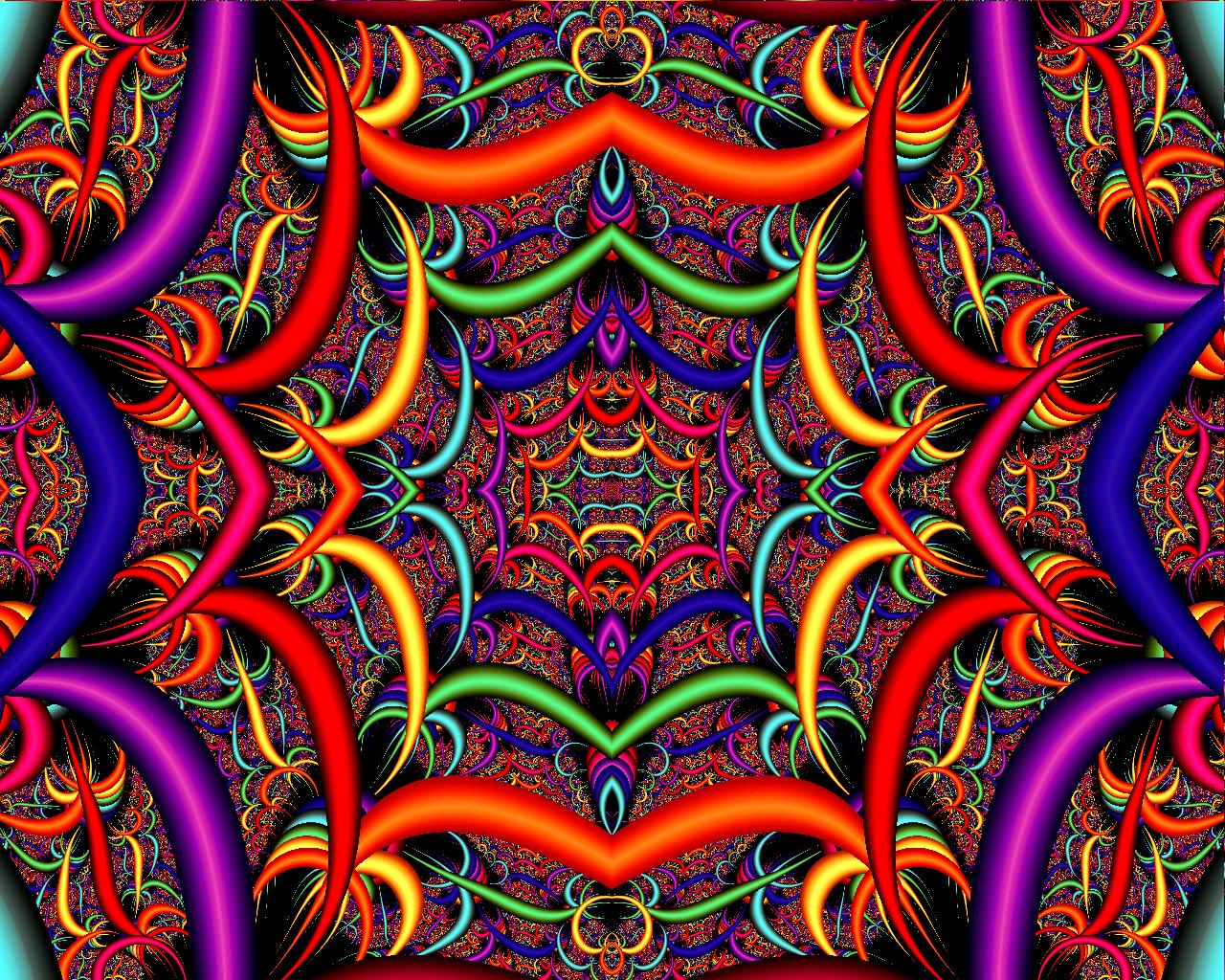 trippy psychedelic art | psychedelic holekram666 digital art