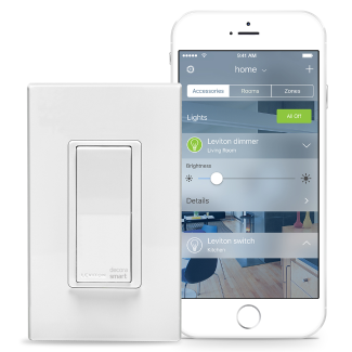 DH15S1BZ > Decora Smart with HomeKit™ Technology