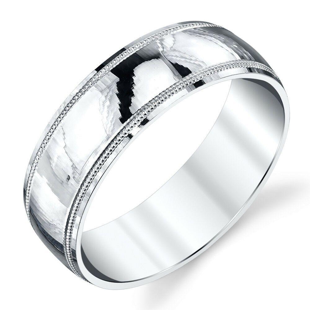26++ Sterling silver mens wedding rings ideas in 2021