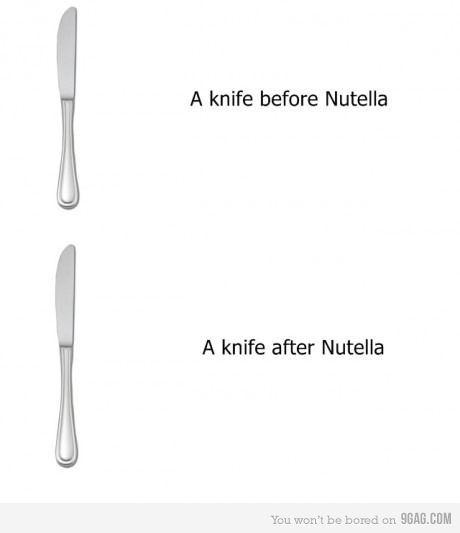 soooo true ;). But I prefer a spoon!