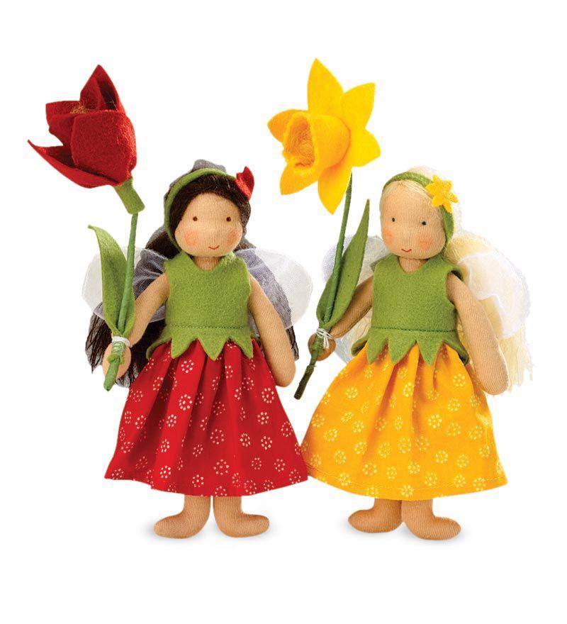 Springtime Fairies by Kathe Kruse on Magic Cabin $49.98 ea