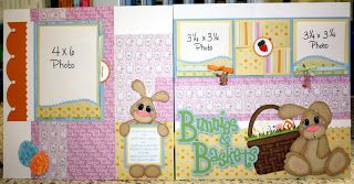 Precious Memories by Julie: Baskets & Bunnies