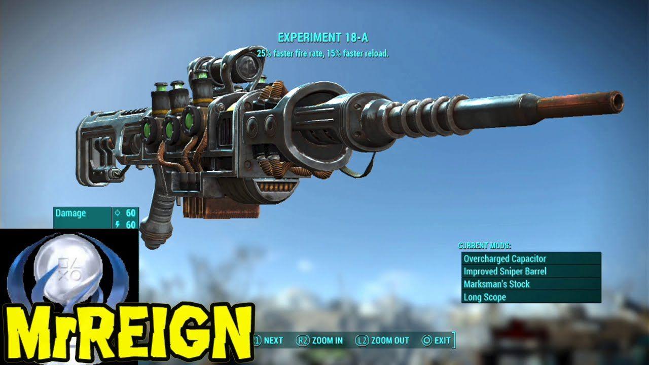 Fallout 4 - Experiment 18-A - Unique Plasma Gun Location