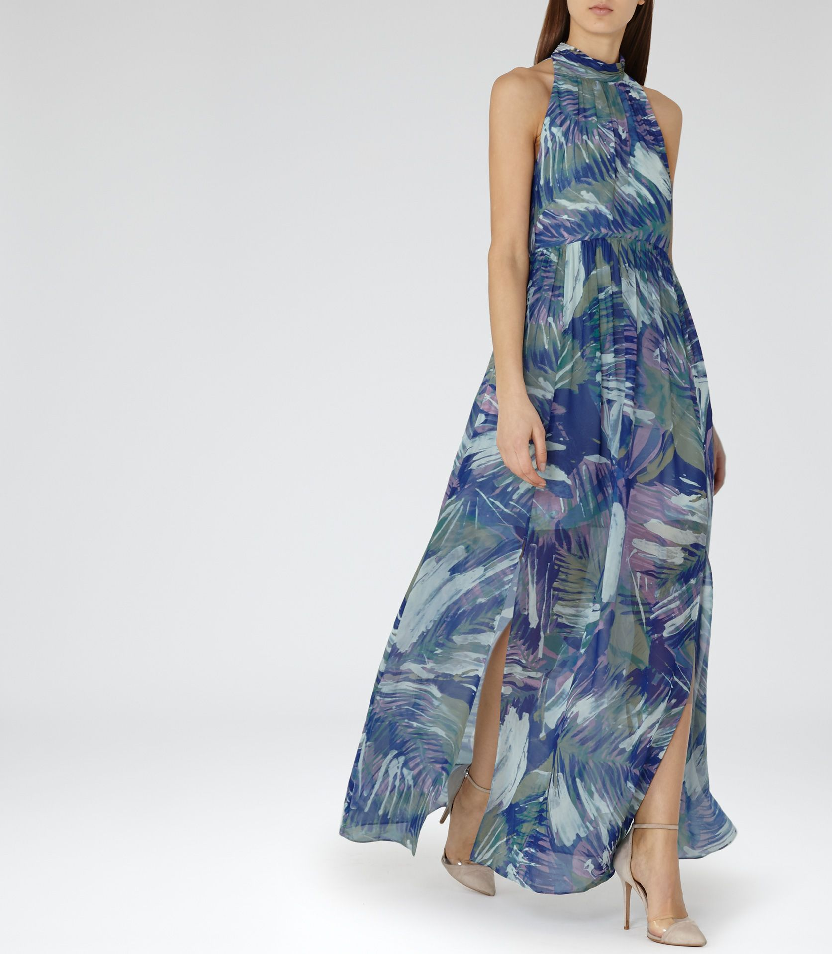 Reiss frances maxi dress