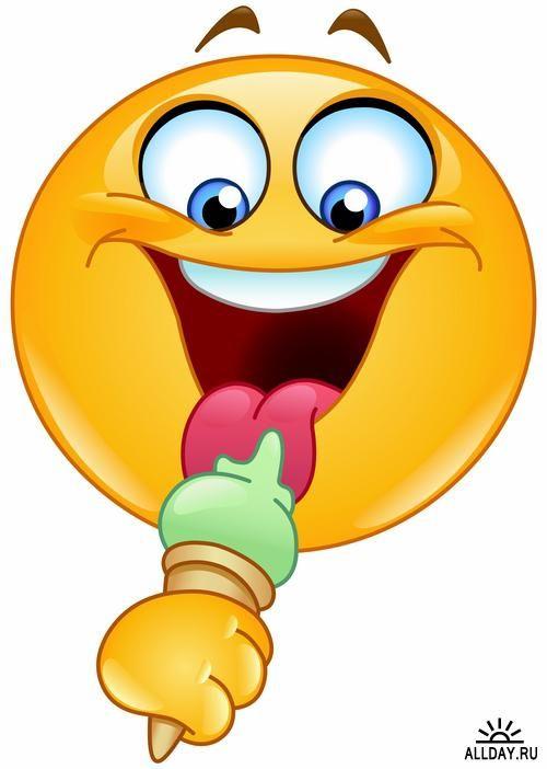 Image Result For Emoji Eating Ice Cream Cool Stuff Emoticon
