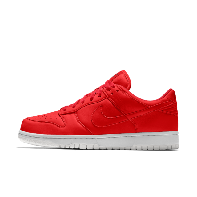 huge selection of 35db9 cc8f8 NIKE DUNK LOW iD (Gym Red - White)