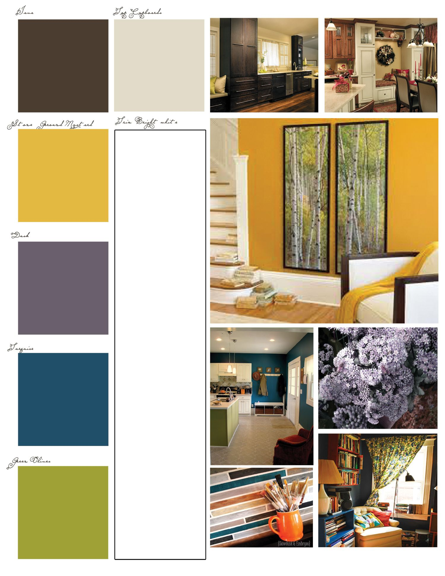 Best Brown Mustard Gray Teal Lime Green Living Room Color 640 x 480