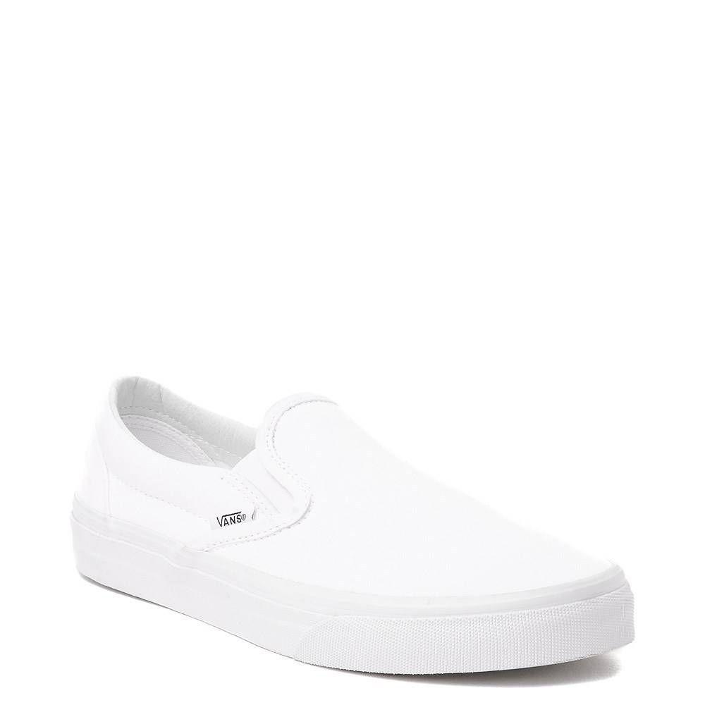 Vans Slip On Skate Shoe - White | Vans