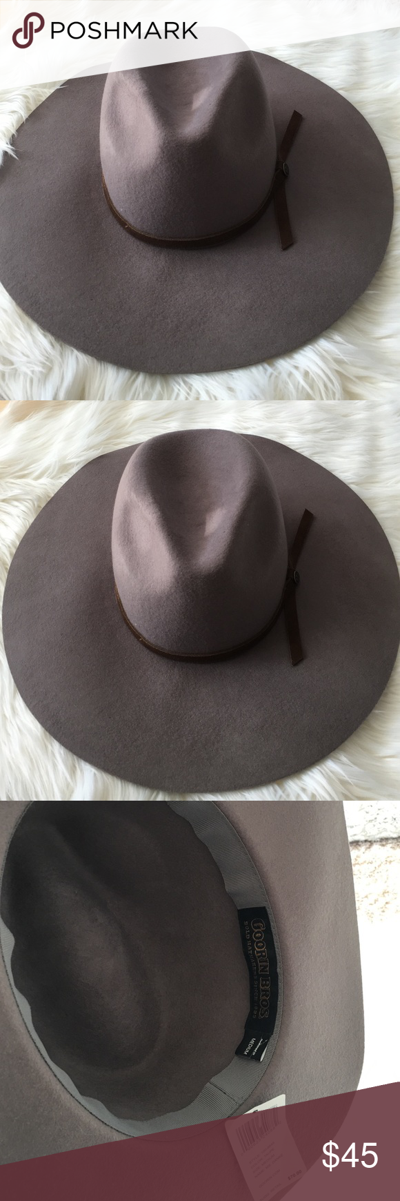 fa212c8b2d0 Goorin Bros Ms. Danke Hat - Never Worn An amazing statement hat from one of  my favorite NYC hat stores Goorin Bros a bold hat maker since 1895 in Taupe  ...