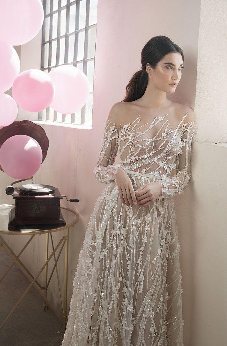 Lee Petra Grebenau Wedding Dresses 2018 – Symphony In White 2018