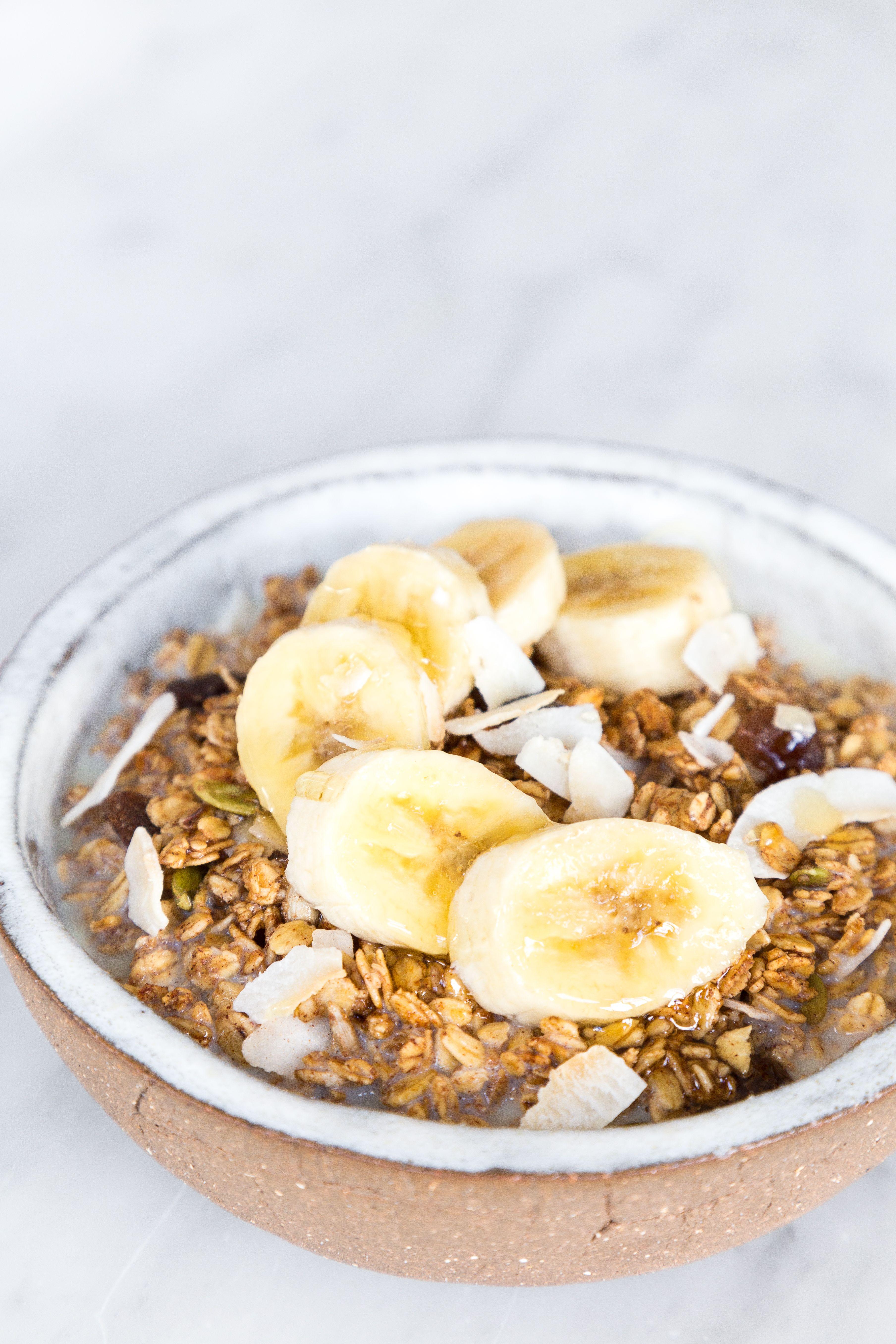 Original Granola   Vegan breakfast easy, Plant based ...