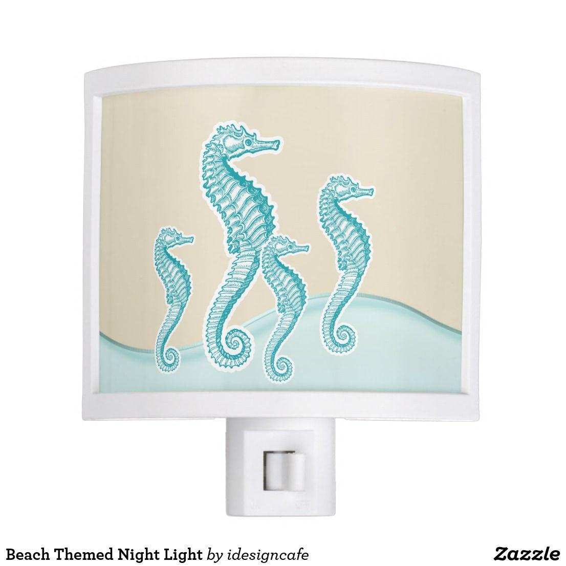 Beach Themed Night Light Zazzle Com Night Light Decorative