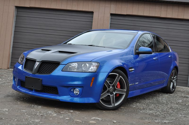 G8 GXP FIREHAWK, this is what im molding my g8 into one step at a ...