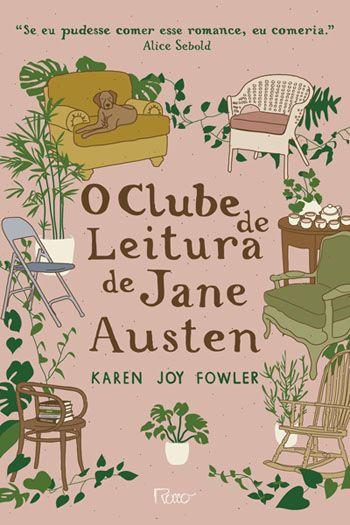 O Clube De Leitura De Jane Austen Clube De Leitura Leitura De
