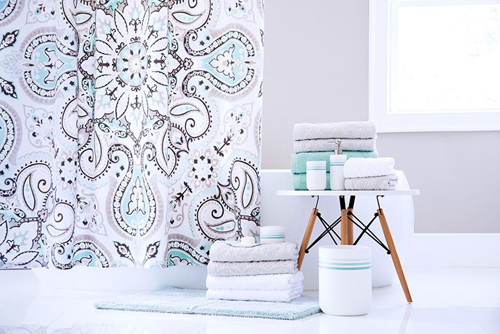 Duvel Shower Curtain And Towel Collection Luxury Bedding Home