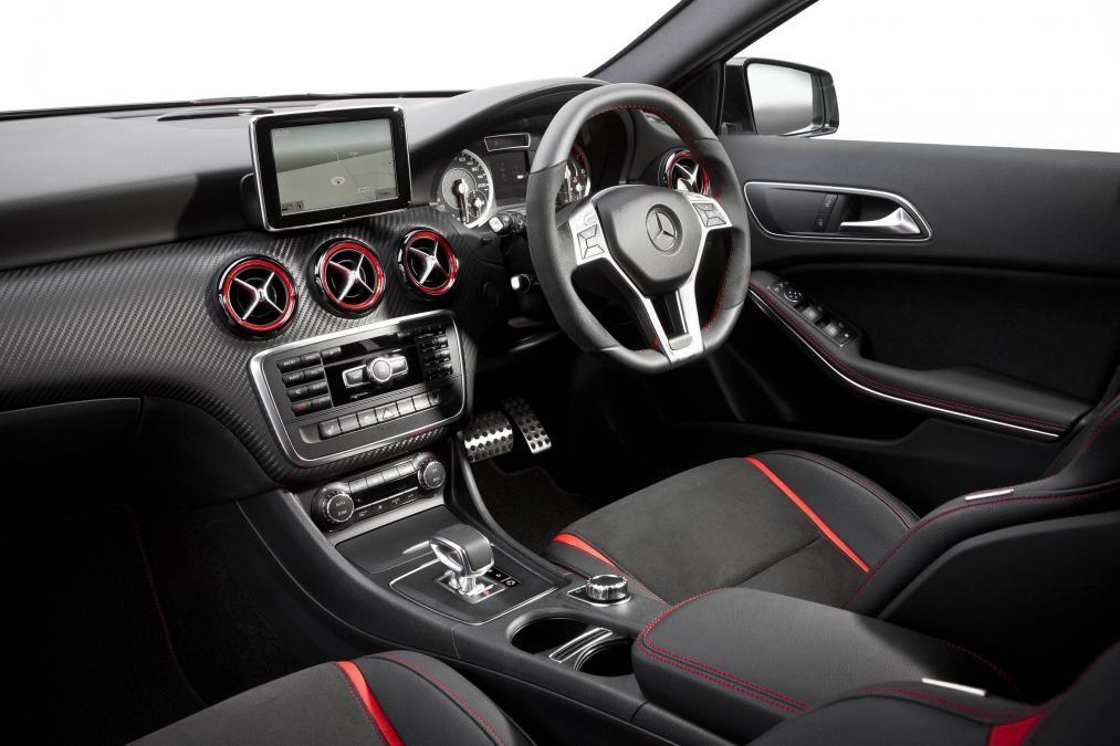 Mercedes A45 Amg Interior Dashboard Benz Vs Bmw A45 Amg